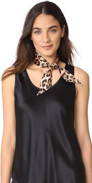 Kate Spade Classic Leopard Skinny Scarf