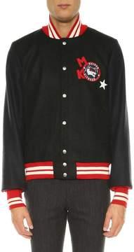 Kitsune Bicolor Bomber Jacket