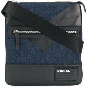Diesel panel shoulder bag