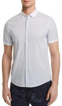 Michael Kors Jeffrey Print Slim Fit Button-Down Shirt