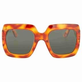 Gucci Oversize Brown Havana Square Sunglasses
