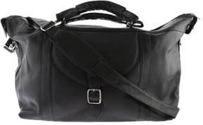 David King Leather 303 Top Zip Travel Bag