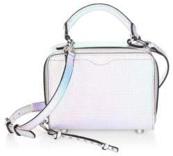 Rebecca Minkoff Hologram Box Crossbody Bag - WHITE - STYLE