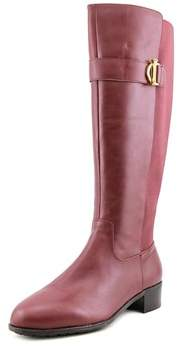 Isaac Mizrahi Senso W Round Toe Leather Knee High Boot.