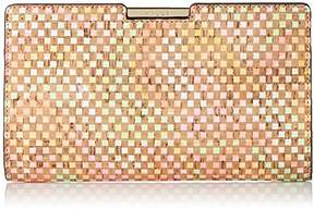 Milly Geo Cork Sm Frame Clutch