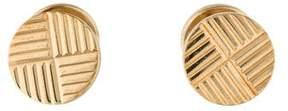 Tiffany & Co. 14K Etched Cufflinks
