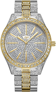 JBW Cristal Stainless Steel 0.12 C.T.W Diamond Accent Womens Two Tone Bracelet Watch-J6346d