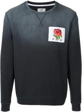 Kent & Curwen patched sweatshirt