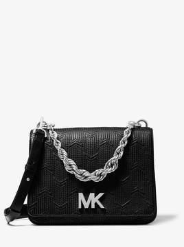 MICHAEL Michael Kors Mott Large Deco Quilted Leather Crossbody