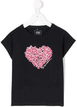 Emporio Armani Kids heart T-shirt