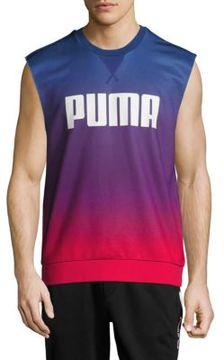 Puma Cotton-Blend Sleeveless Tee
