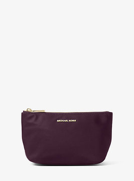 Michael Kors Penny Nylon Travel Pouch - PURPLE - STYLE