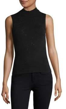 Eliza J Sprinkle Sleeveless Sweater