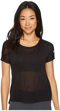 Asics Legends Crop Top Women's Short Sleeve Pullover