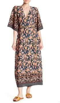 Alexia Admor 3/4 Sleeve Wrap Dress
