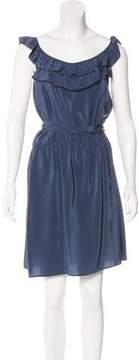 Amanda Uprichard Silk Mini Dress
