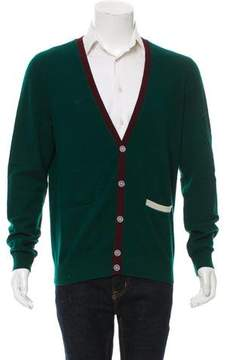 Band Of Outsiders Wool V-Neck Cardigan