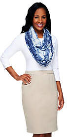 Collection XIIX Collection 18 Tie Die Eyelet Infinity Scarf