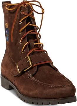 Polo Ralph Lauren Men's Ranger Polo Bear Suede Boots Men's Shoes