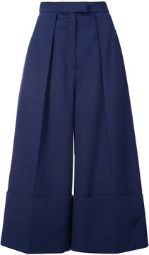 DELPOZO cropped flared trousers