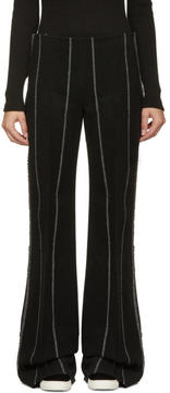 Calvin Klein Collection Black Pinstripe Jadile Trousers