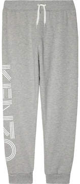 Kenzo Logo leg cotton jogging bottoms 4-16 years