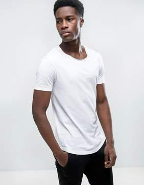 Esprit Longline Scoop Neck T-Shirt