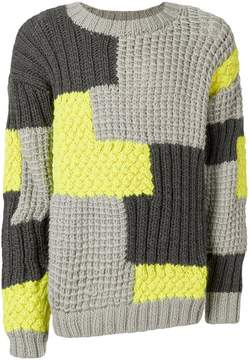 Christopher Raeburn patchwork jumper