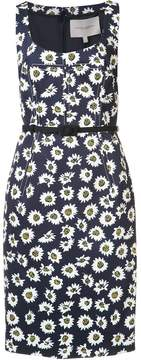 Carolina Herrera floral fitted dress