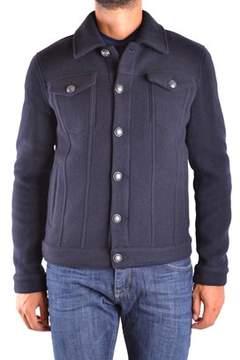 Siviglia Men's Blue Wool Jacket.