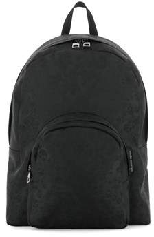 Alexander McQueen Men's Black Polyamide Backpack.