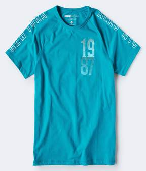 Aeropostale New York 1987 Stretch Graphic Tee