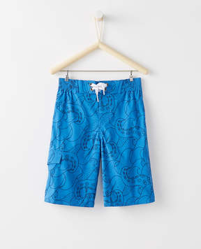 Hanna Andersson Sunblock Land + Water Board Shorts With UPF 50+