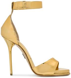 Paul Andrew metallic open-toe sandals