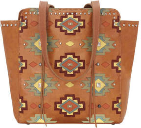 American West Adobe Allure Zip-Top Tote (Women's)