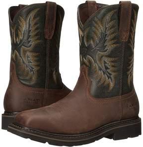 Ariat Sierra Wide Square Toe Steel Toe Men's Work Boots