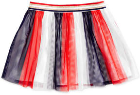 Epic Threads Little Girls Striped Tulle Skirt, Created for Macy's