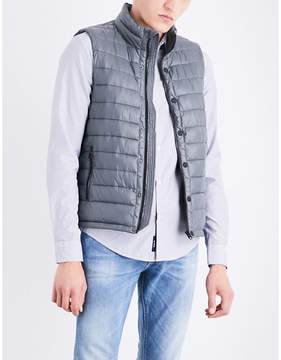 Replay Quilted shell gilet