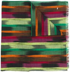 Saint Laurent colour-block scarf