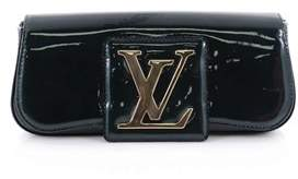 Louis Vuitton Pre-owned: Sobe Clutch Patent. - GREEN - STYLE