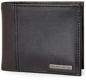 Nautica Mystic Leather Passcase Wallet