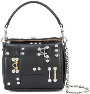 Alexander McQueen hardware embellished mini bag