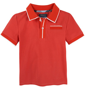 Andy & Evan Boys' Red Polo