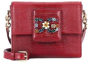 Dolce & Gabbana Millennials Mini leather shoulder bag - RED - STYLE