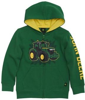John Deere Boys 4-7x Tractor Zip Hoodie