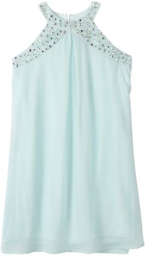 Speechless Girls 7-16 Embellished Halter Top Sheath Dress