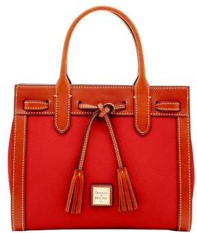 Dooney & Bourke Pebble Grain Ariel Satchel - RED - STYLE