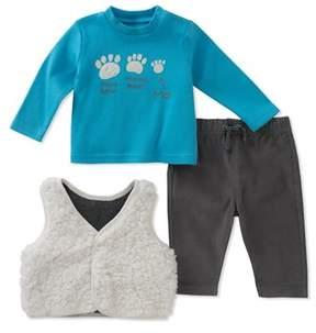 Absorba Boys' 3pc Vest Set.