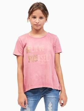 Calvin Klein Jeans Girls Be You Logo T-Shirt