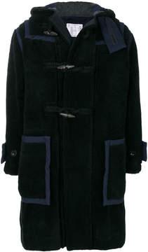 Sacai oversized duffle coat
